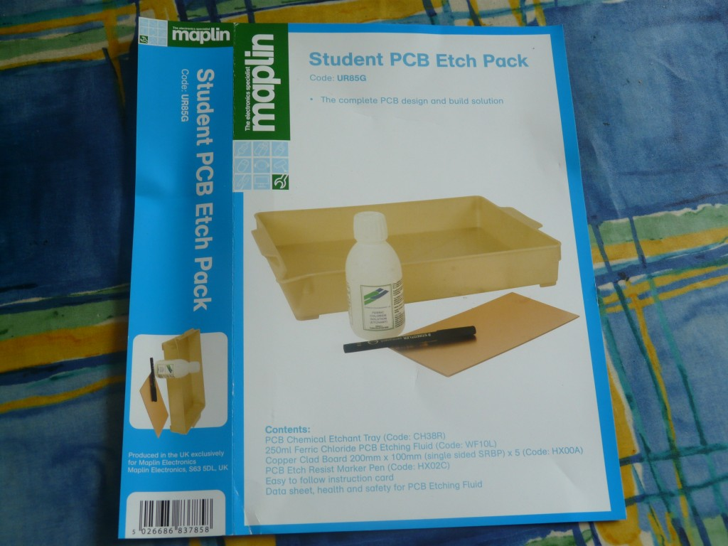 Maplin PCB Etching Kit