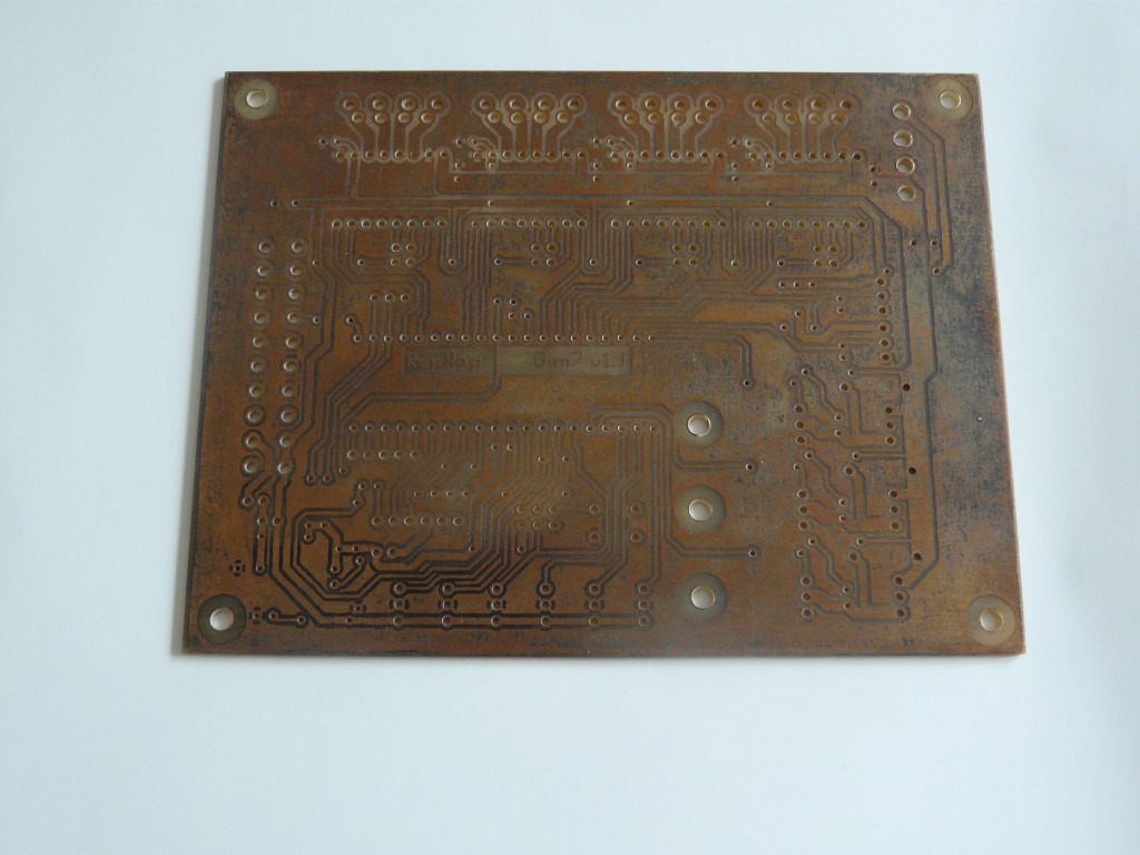 Tarnished PCB