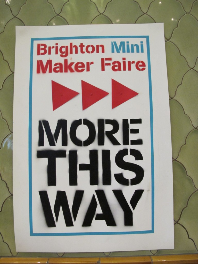 Brighton Mini Maker Faire 2011