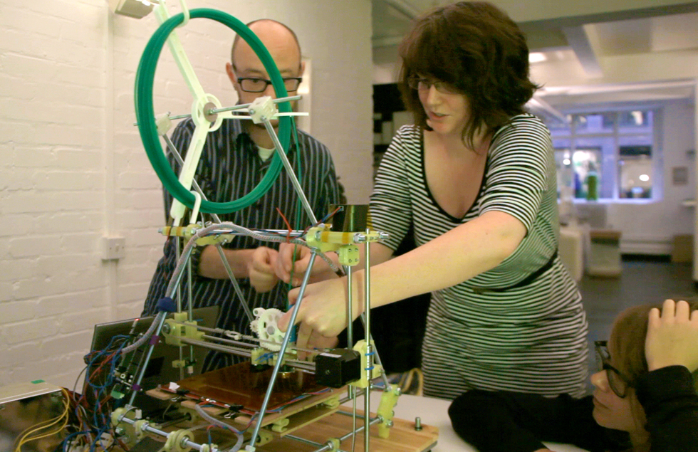 Demonstrating Using A RepRap