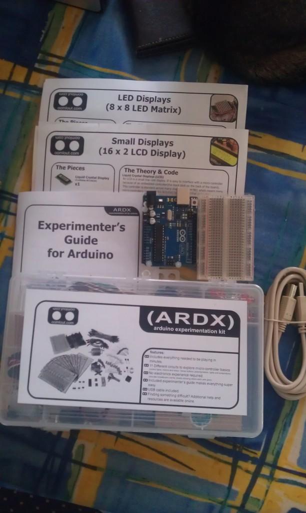 ARDX Arduino Start Kit + Extras
