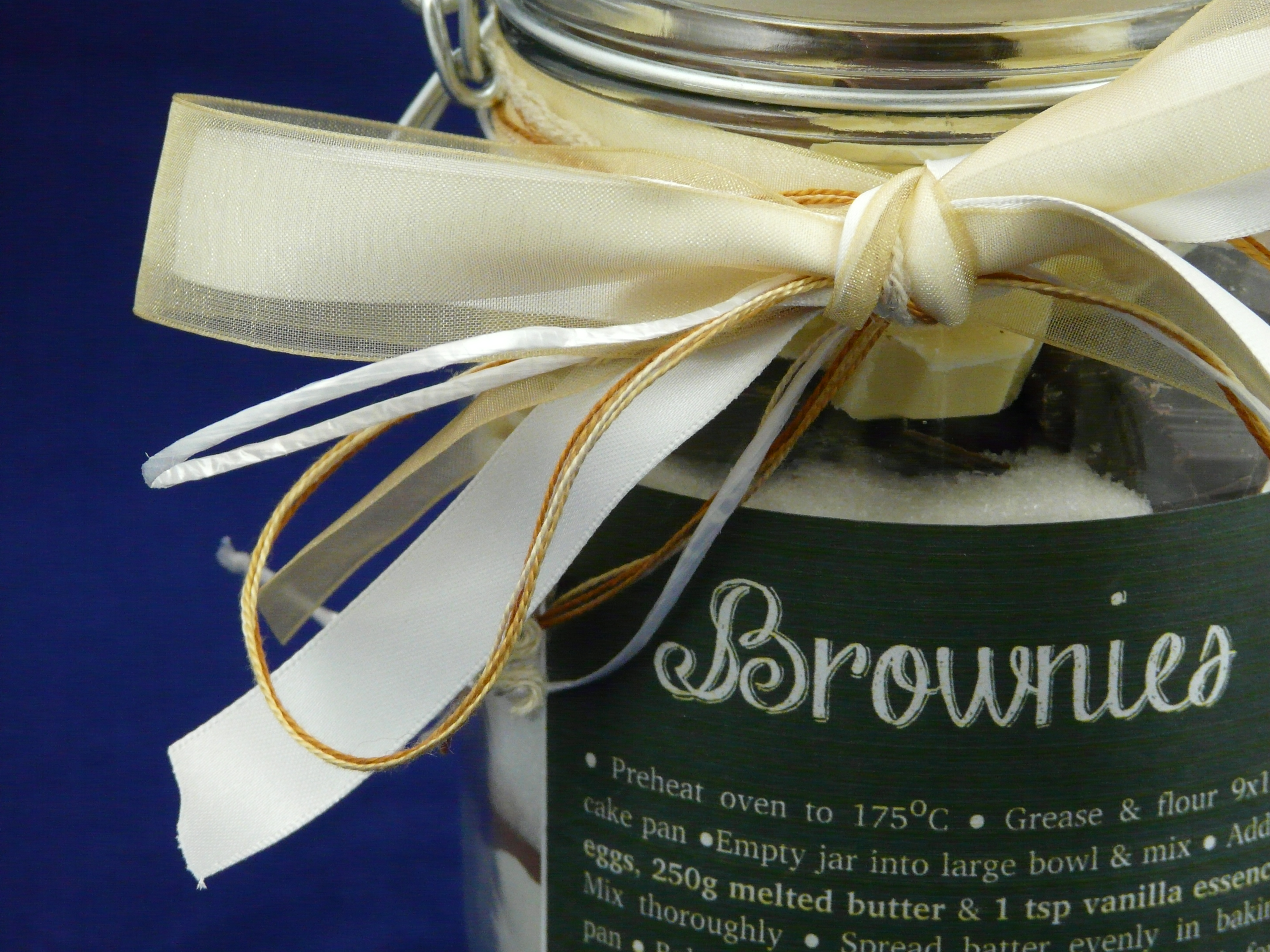 Brownies in a Jar Decoration