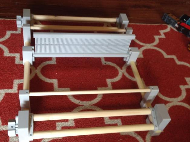 16 inch rigid heddle loom by ten16 on thingiverse